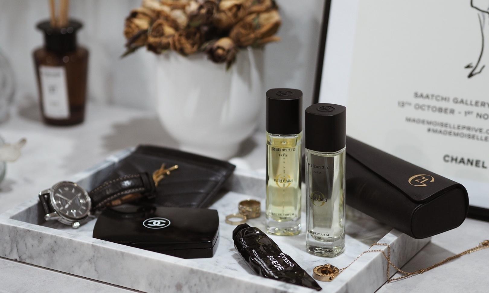 Maison 21G eaux de parfum with a leatherette case - WILDCHILD
