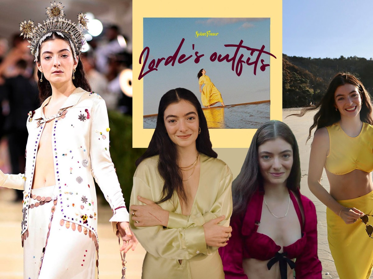 Lorde's outfits from Solar Power - WILDCHILD SG