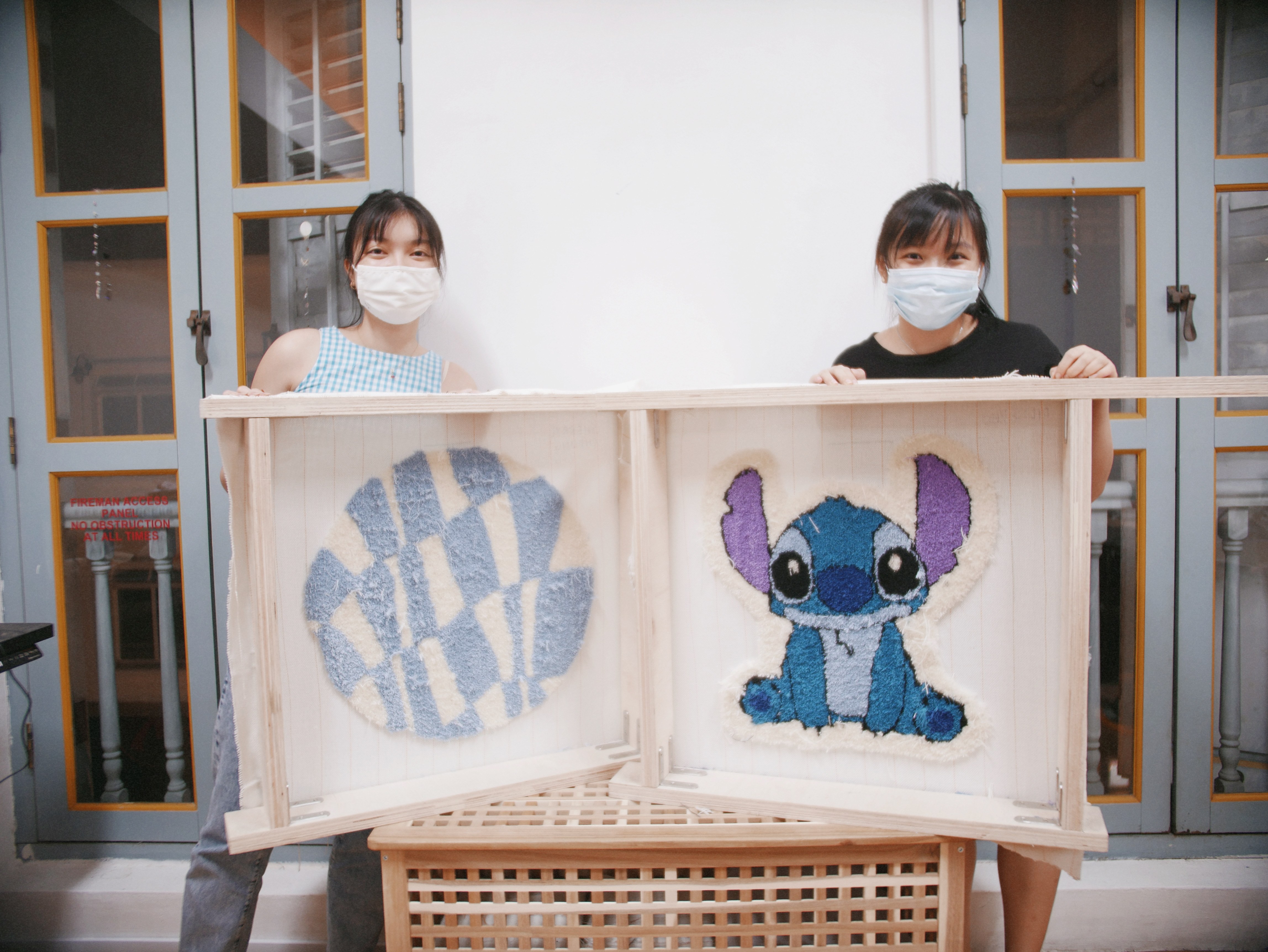 Making rugs at Tuft Club Singapore - review - WILDCHILD SG